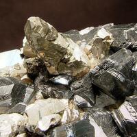 Pyrite Psm Calcite & Sphalerite
