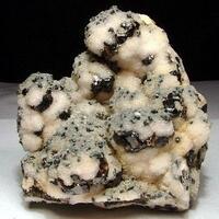 Sphalerite Manganoan Calcite & Bournonite
