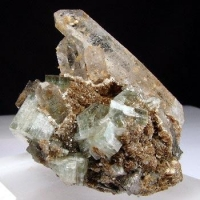 Apatite With Quartz & Arsenopyrite