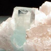 Aquamarine Quartz & Albite