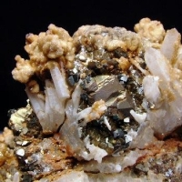 Arsenopyrite Quartz & Calcite