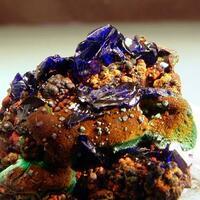 Azurite Malachite & Cuprite