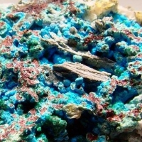Chalcoalumite Ajoite & Brochantite