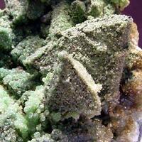 Cuprian Smithsonite & Tennantite