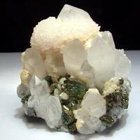 Manganoan Calcite Dolomite & Chalcopyrite