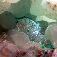 Prehnite & Native Copper