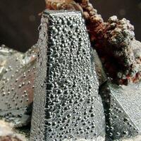 Psilomelane & Calcite