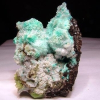 Smithsonite Aurichalcite Hemimorphite & Calcite