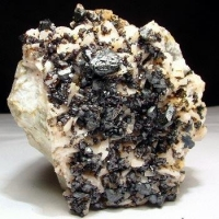 Sphalerite Dolomite & Chalcopyrite