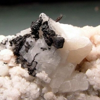 Acanthite & Native Silver