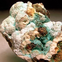 Aurichalcite Hydrozincite & Baryte