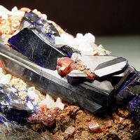 Azurite Cerussite & Smithsonite