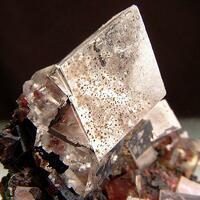 Calcite Goethite & Mottramite
