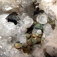 Calcite Sphalerite & Arsenopyrite