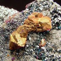 Chalcopyrite & Tennantite