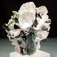 Elbaite Apatite & Quartz