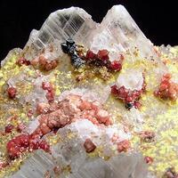 Gypsum With Andradite Ettringite & Hausmannite