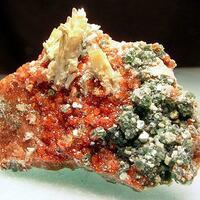 Hessonite Diopside & Clinochlore
