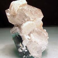 Indicolite Quartz & Lepidolite