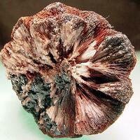 Manganoan Calcite With Goethite