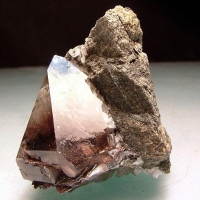 Quartz With Rutile & Brookite