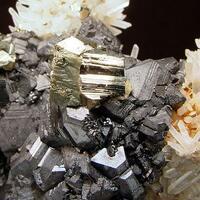 Sphalerite Galena Pyrite & Quartz