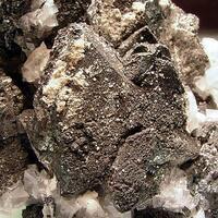 Tennantite Calcite & Smithsonite