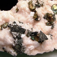 Tetrahedrite & Chalcopyrite With Manganoan Calcite