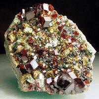 Andradite Diopside Clinochlore & Vesuvianite