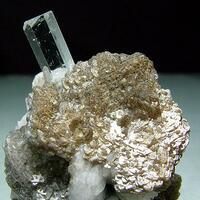 Aquamarine Muscovite & Albite