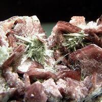 Axinite-(Fe) & Actinolite