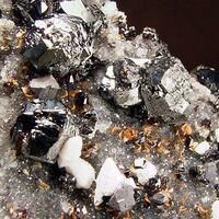 Baryte Psm Alstonite With Sphalerite & Galena