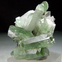 Baryte With Malachite Inclusions