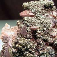 Calcite Hematite & Chalcopyrite