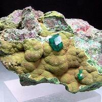 Dioptase & Bayldonite