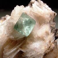 Fluorite & Cleavelandite