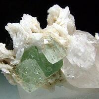 Fluorite Elbaite & Quartz