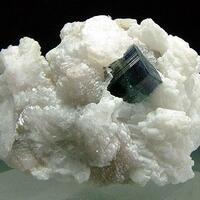 Indicolite With Cleavelandite & Muscovite