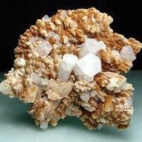 Manganoan Calcite Calcite & Limonite