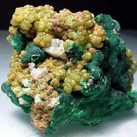 Pyromorphite & Cerussite With Malachite