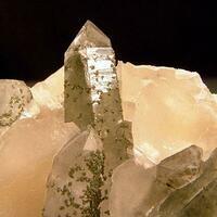 Quartz & Chlorite With Calcite