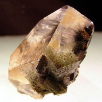 Quartz With Brookite & Rutile Inclusions