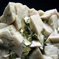 Siderite & Chalcopyrite