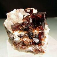 Vesuvianite & Calcite