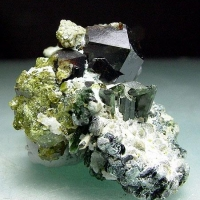 Andradite & Diopside