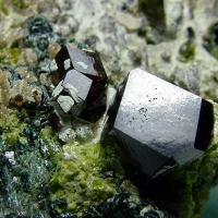 Andradite Clinochlore & Vesuvianite