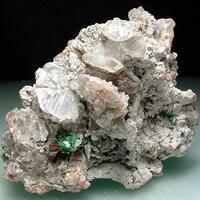 Calcite Dolomite & Malachite