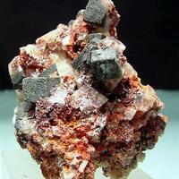 Calcite With Hematite & Goethite