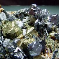 Chalcopyrite Galena & Quartz