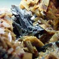 Chalcostibite Zinkenite & Siderite